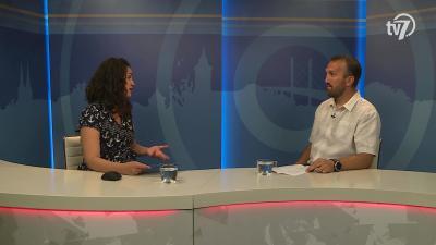 Zámbori Eszter beszélgetett Kálmán Tiborral a 7.TV Aktuális című magazinjában
