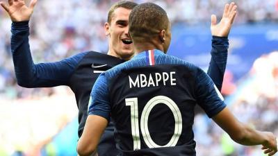 A szenzációsan futballozó Kylian Mbappé volt a mezőny legjobbja (Fotó: AFP)