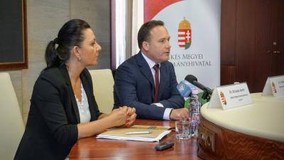 Krizsán Anett és Takács Árpád. Fotó: V.D.