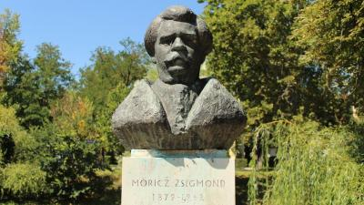 Móricz Zsigmond mellszobra, Martsa István alkotása (fotó: Kliment Pál)