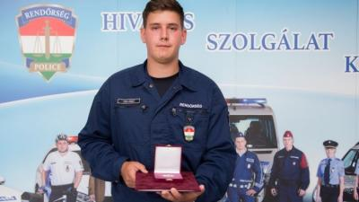 Zsiga Róbert (fotó: police.hu)
