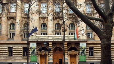 A Magyar Nemzeti Bank székháza a főváros V. kerületében, a Szabadság tér 8-ban (Forrás: MTI/Jászai Csaba)