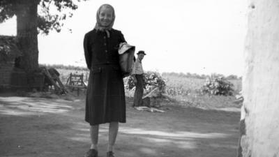 Forrás: FORTEPAN/Braun Antal, 1965. Lökösháza, Bánhidi major, Lengyel tanya