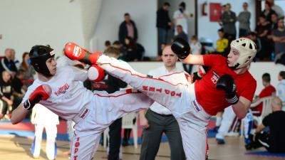 Nagy versenyre készülnek a kick-boxosok. Archív fotó: egyesület