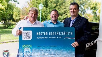 Horgászkártya indító ünnepi esemény és sajtótájékoztató, Budapest – Fotó: www.nyito.mohosz.hu