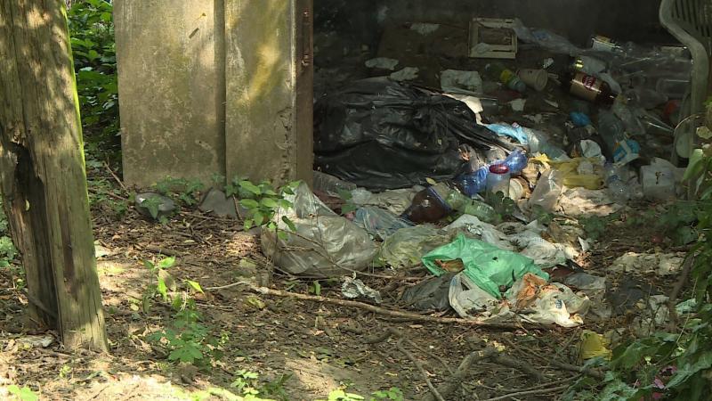 hulladéklerakó csatornát