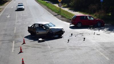 A csabacsűdi baleset (fotó: police.hu)