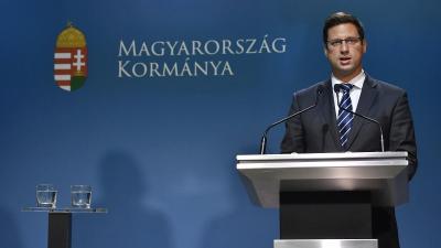 Gulyás Gergely Miniszterelnökséget vezető miniszter (MTI fotó: Illyés Tibor)