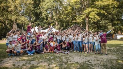 A nagy csapat a szarvasi táborban - a kép jobb oldalán található nyíllal lapozhat a galériában (fotók: Vektor)