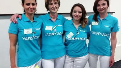 A képen a Vadnyugat csapata: Hangya-Kerekes Mónika, Mateiné Pintér Julianna, Lendvainé Dégi Fanni, Dér Irén Éva. Forrás: Orosházi Kórház