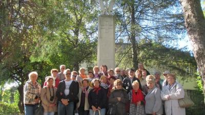 A győri tanulmányút résztvevői. Fotó: Lengyel Nemzetiségi Önkormányzat