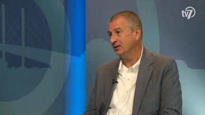 Knezsik István a 7. Tv Aktuális című műsorában