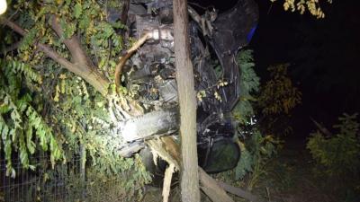 A Medgyesegyháza és Orosháza közt történt baleset. Forrás: police.hu