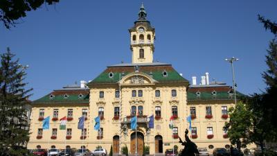 A szegedi városháza. Forrás: Wikipédia