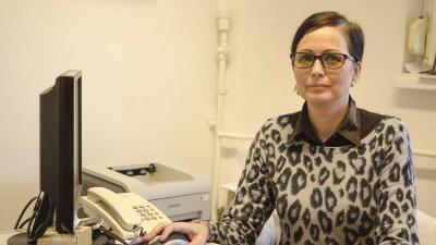 Az Orosházi Kórház egy nyertes Európai Uniós pályázatnak köszönhetően az elsők között alkalmaz az országban gyászterapeutát. Fotó: Melega Krisztián/Orosházi Kórház