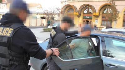 Budapesten fogták el a Gyuláról megszökött rabot. Fotó: police.hu