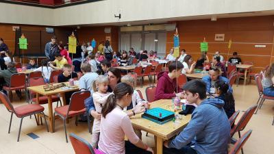 A társasjátéknap mindig kedvelt családi program (fotó: Kovács Dénes)