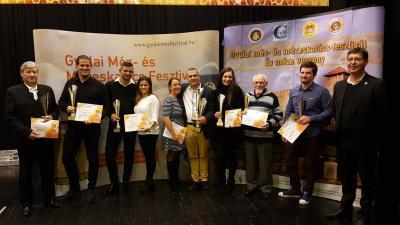 A mézverseny díjazottjai (Fotó: Kovács Dénes)