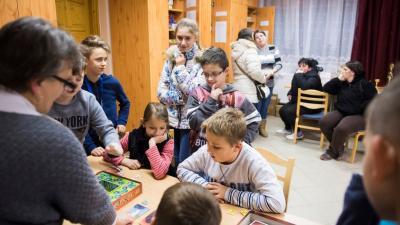 A Játékvarázs tanoda Kállósemjénben. Archív fotó: MTI