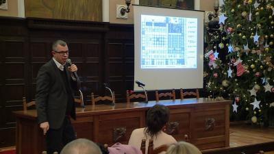 Lakossági fórumot tartottak a térségi vásártér fejlesztéséről. Fotó: Tóth Áron