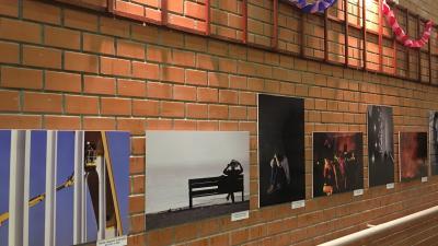 A Márvány Fotóműhely 2019-es első kiállítása. Fotó: Szendi Rita