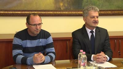 Szigeti Csaba és Szarvas Péter  Fotó: Kugyelka Attila