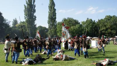 Nagy sikerrel zajlott múlt évben is a Katonai Hagyományőrző Fesztivál Gerlán (fotó: MHKHSZ)