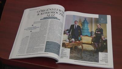 Az év 50 legbefolyásosabb személye a magyar turizmusban című kiadványban szerepel Dr. Görgényi Ernő polgármester és Komoróczki Aliz a turisztikai cég vezetője is. Fotó: Ujházi György