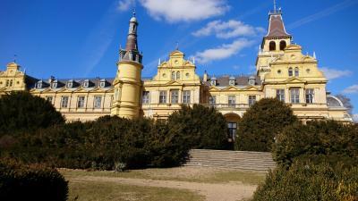 A szabadkígyósi Wenckheim-kastély jelenlegi állapotában, 2019.02.27.-én. Fotó: behir.hu/V.D.