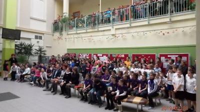 Az eredményes diákokat és felkészítőiket ünnepségen köszöntötték. Fotó: Gyulai Tankerületi Központ