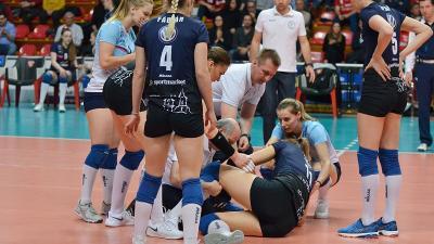 Szedmák Réka Olaszországban szenvedett sérülést (Fotó: Kuti István)