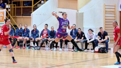 Marincsák Nikolett marad a csabai együttesben a következő szezonban is (Fotó: Milyó Pál)