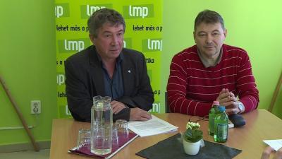 Takács Péter környezetvédelmi javaslatot terjesztett a békéscsabai közgyűlés elé. Fotó: Kugyelka Attila