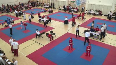 Kick-box országos diákolimpia döntő  Fotó: Fazekas Róbert