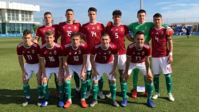 Dávid Zoltán (15) is segítheti a válogatottat az Európa-bajnokságon (Fotó: valogatott.mlsz.hu)