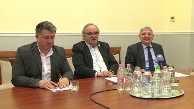 Bíró Csaba, Kiss Tibor és Kerekes Attila
