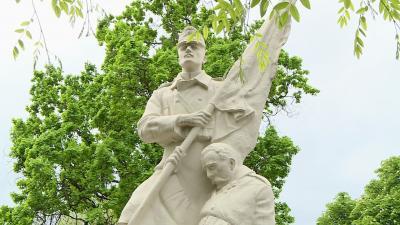 Felújították az I. világháborús sírokat Békéscsabán. Fotó: Kugyelka Attila