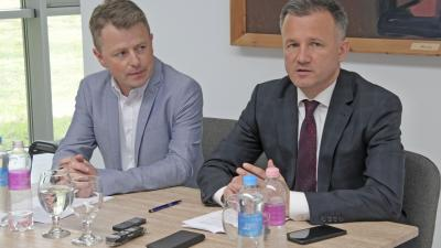 Alt Norbert és Görgényi Ernő (fotó: Gyulai Hírlap – Tóth Péter)