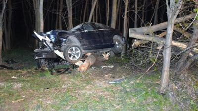 A sarkadi baleset. Fotó: police.hu
