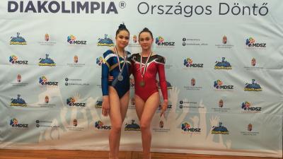 Szabó Mónika és Sándor Roxána Lili.