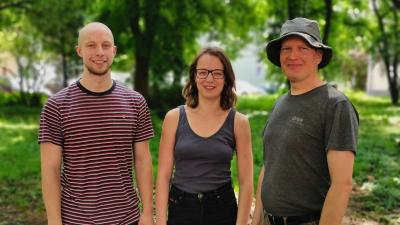 Tiit Tamme, Siiri Kask és Jan Vutt - a kép jobb oldalán található nyílra kattintva lapozhat a galériában