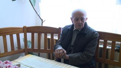 Mándi János 100. születésnapján (fotó: Ujházi  György)