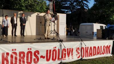 A Gyulai Várszínház 56. évadának és a 20. Körös-völgyi Sokadalom megnyitója. Fotó: Kovács Dénes