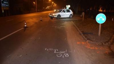 Baleset Orosházán, 2019. 02.17.-én. Fotó: police.hu