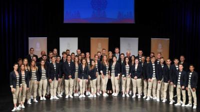 A minszki Európa Játékokra induló magyar delegáció (Forrás: olimpia.hu)