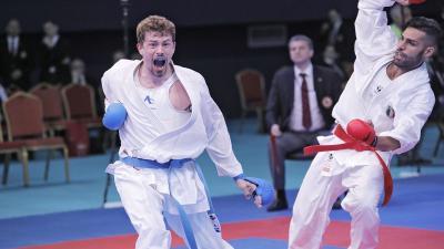 Hárspataki Gábor. Fotó: Magyar Karate Szakszövetség