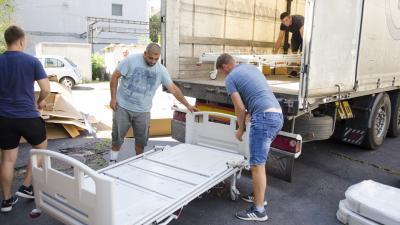 Új ápolási ágyakat kapott az Orosházi Kórház. Fotó: Melega Krisztián