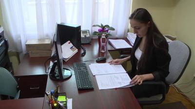 28 diák dolgozik nyáron a békéscsabai polgármesteri hivatalban. Fotó: Kugyelka Attila