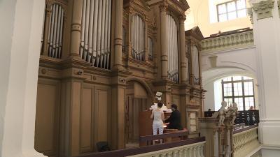 orgonák éjszakája evangélikus nagytemplom Fotó: Ujházi György