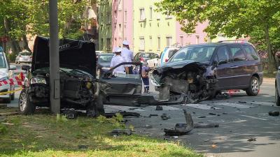 Baleset Békéscsabán, 2019.07.23.-án. Fotó: 7.TV/Fazekas Róbert